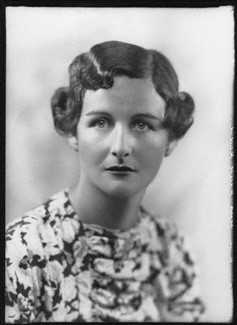 NPG x26631; Nancy Mitford by Bassano